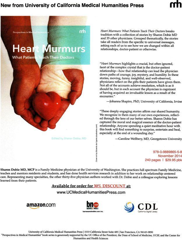 Heart Murmurs flyer